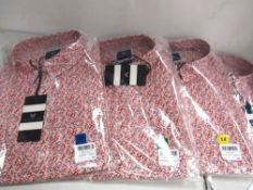 4 x Crew Clothing Agnes shirts, size 10, 12 and 14, RRP £55.00 each - Sealed new in pack (1A)