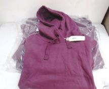 3 x Fat Face Isabelle overhead hoodies, 2 x size M and 1 x size L - New with tags (1A)