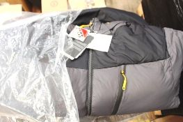 1 x Mountain Warehouse men's polar expedition down dark grey padded jacket, Size L, RRP £219.99