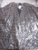 1 x Crewe ladies Ruth wool coat, size 18, RRP £149.00 - Sealed new in pack (1B)