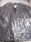 1 x Crewe ladies Ruth wool coat, size 8, RRP £149.00 - Sealed new in pack (1B)