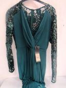 1 x Phase Eight Melony maxi sequin dress, UK size 12 - New with tags (1B)
