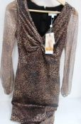 1 x Fenn Wright Manson by Amanda Holden Jane dress, size 8, RRP £299.00 - New with tags (1A)