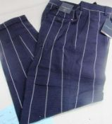 1 x pair of Tommy Hilfiger ladies trousers, flex seersucker EU size 46 - New with tags (1B)