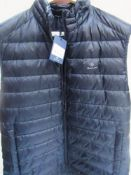 1 x Gant light down gilet, size XL - New with tags (1B)