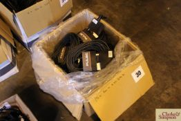 c.15x 20m 5-pin DMX cables.