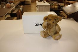 A small Steiff bear, boxed