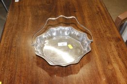 A James Deakins & Sons silver plated dish