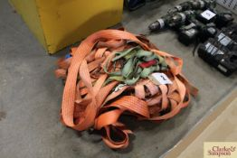 Quantity of ratchet straps.