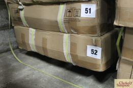 Boxed Bucklesham Teak 6ft bench.