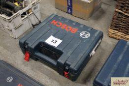 Bosch 110v SDS drill in case.