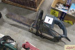 Bosch 240v reciprocating saw.