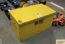 Van Vault tool chest with key.