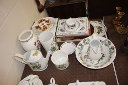 A quantity of various Portmeirion china