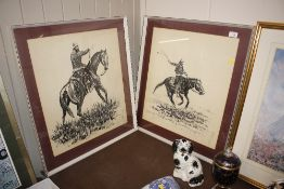 A pair of 1960's / 70's prints of south American Gaucho's