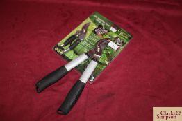 Stainless steel pruner kit.*