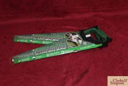 2x Spear & Jackson laser saws.*