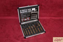 8 piece Deming drill set.*