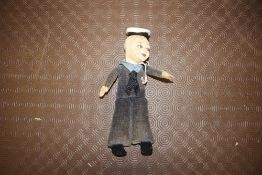 A Norah Wellings doll of a sailor