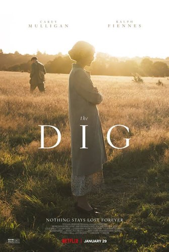 A guided tour of Sutton Hoo for up to 10 people with private viewing of the film 'The Dig' at