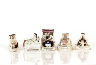A collection of thirteen Victorian faring ornaments
