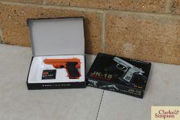 2x BB guns. *