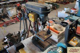 Axminster pillar drill.