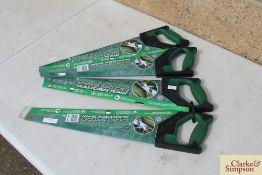 4x Spear & Jackson saws. *