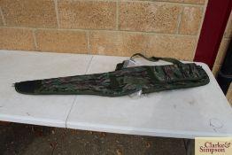 Fleece lined gun bag. *