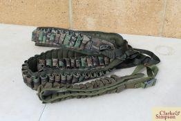 4x cartridge belts. *