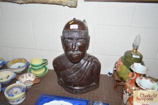 A Nigerian bust Iche Ezedinaobu vendors label to v