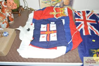 Two RNLI flags