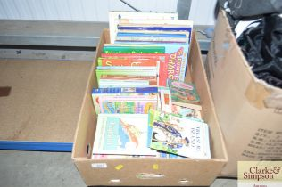 A box of various children's books to include Enid