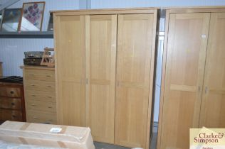 A G plan triple wardrobe