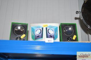 A Heineken speaker set