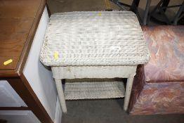 A loom sewing box