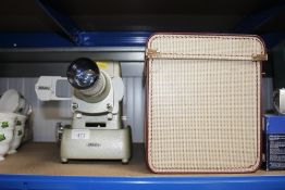 An Aldis projector sold as collectors item