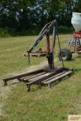 Spaldings 1T engine crane. M