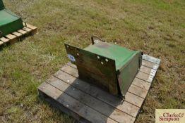 John Deere tool box. LH