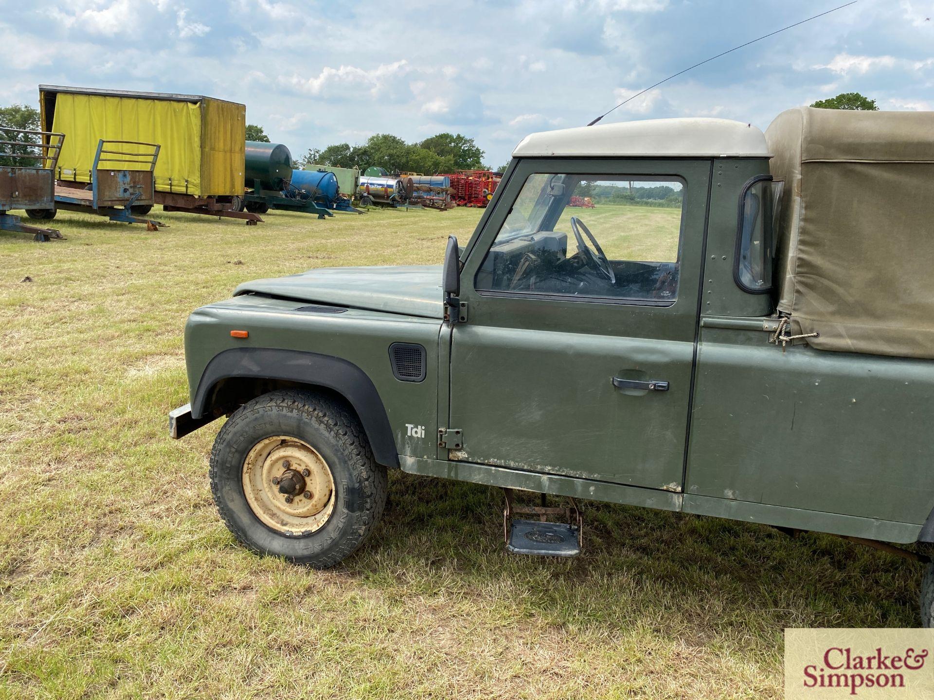 Land Rover Defender 110 single cab pick-up. Registration H317 OHK. Date of first registration 08/ - Image 9 of 56