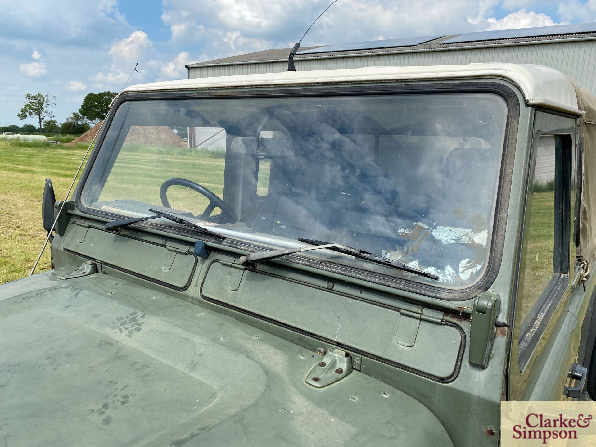 Land Rover Defender 110 single cab pick-up. Registration H317 OHK. Date of first registration 08/ - Image 12 of 56