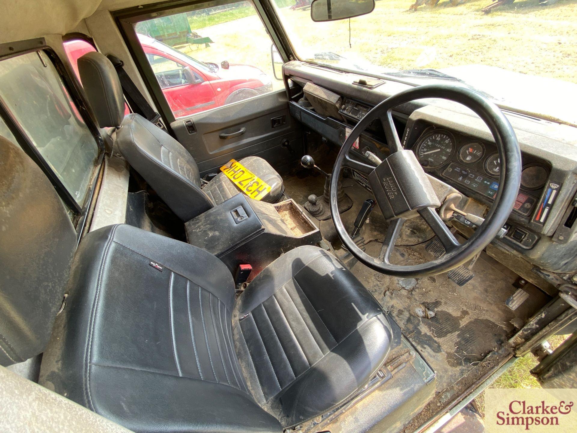 Land Rover Defender 110 single cab pick-up. Registration H317 OHK. Date of first registration 08/ - Image 36 of 56