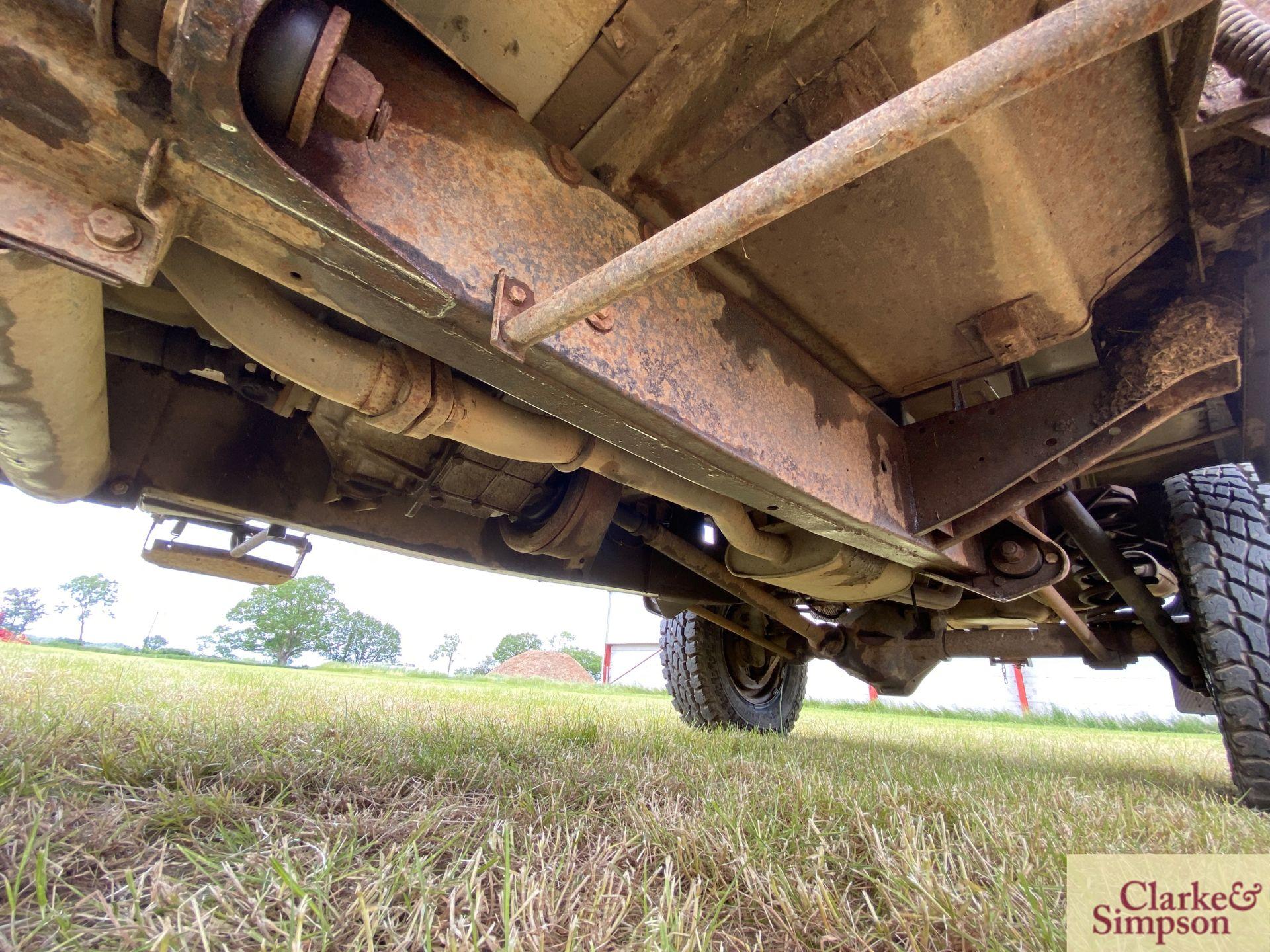 Land Rover Defender 110 single cab pick-up. Registration H317 OHK. Date of first registration 08/ - Image 52 of 56