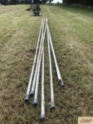 Quantity of 2in irrigation pipes. LH