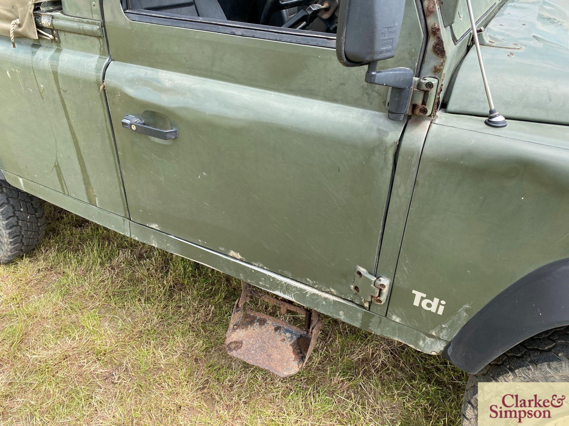 Land Rover Defender 110 single cab pick-up. Registration H317 OHK. Date of first registration 08/ - Image 31 of 56
