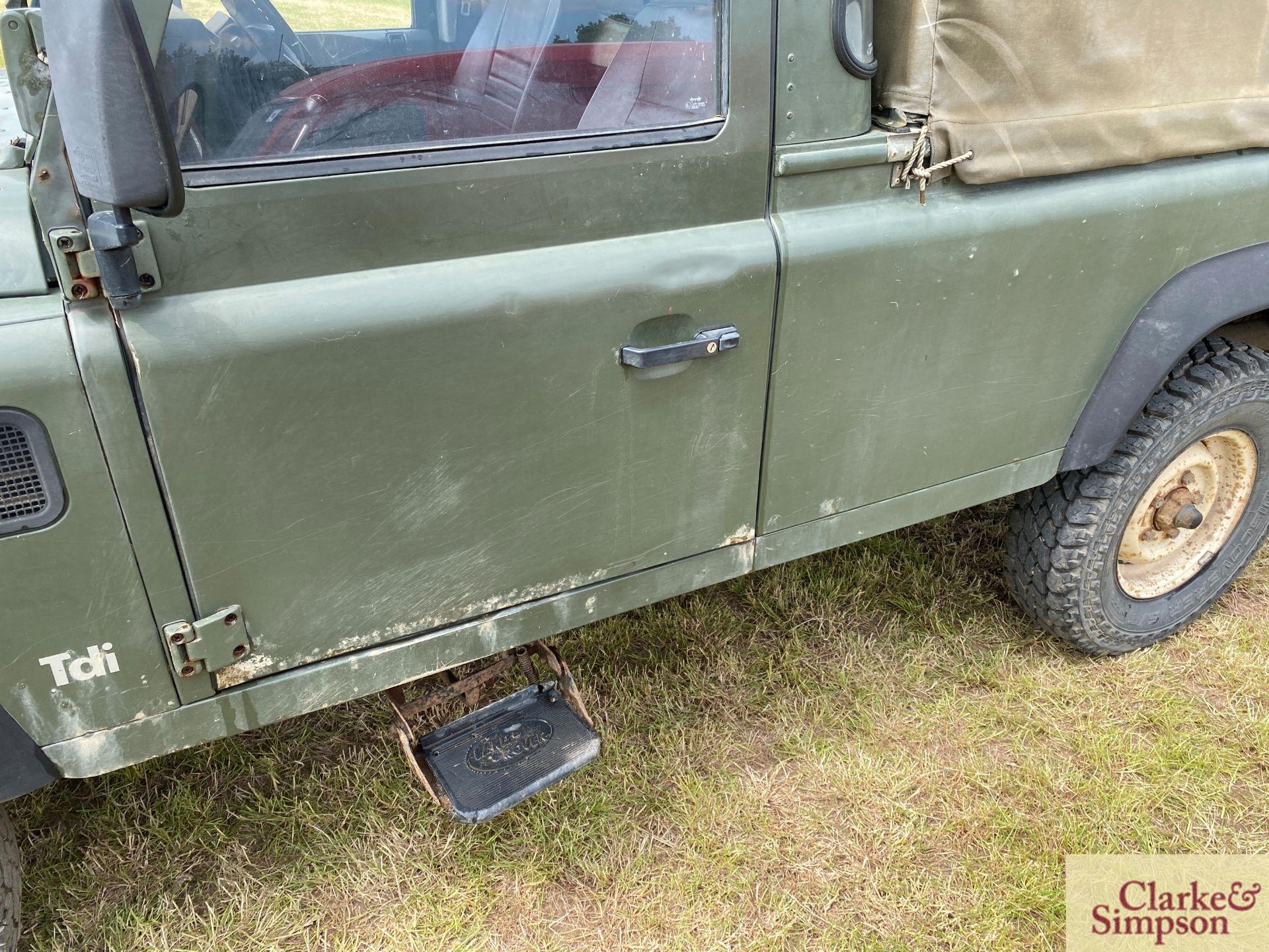 Land Rover Defender 110 single cab pick-up. Registration H317 OHK. Date of first registration 08/ - Image 17 of 56