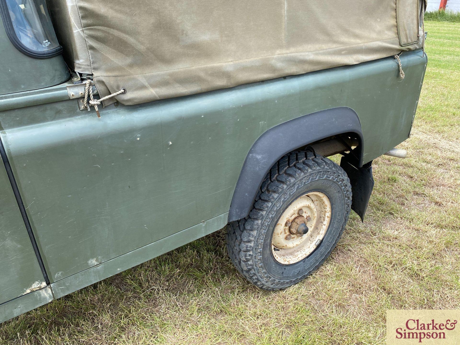 Land Rover Defender 110 single cab pick-up. Registration H317 OHK. Date of first registration 08/ - Image 19 of 56