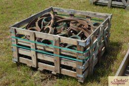Large quantity of John Deere C9 pig tails. M