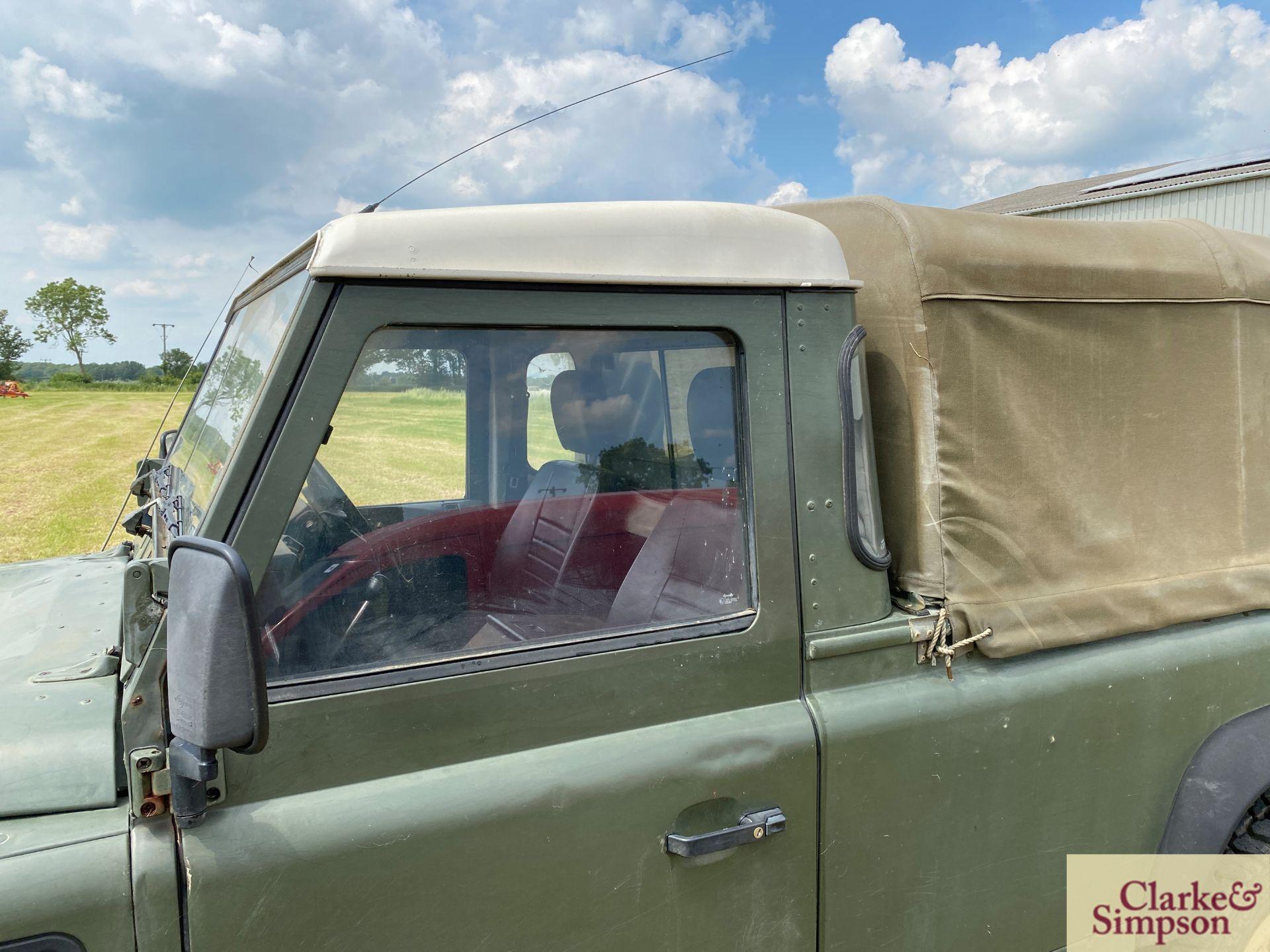 Land Rover Defender 110 single cab pick-up. Registration H317 OHK. Date of first registration 08/ - Image 16 of 56