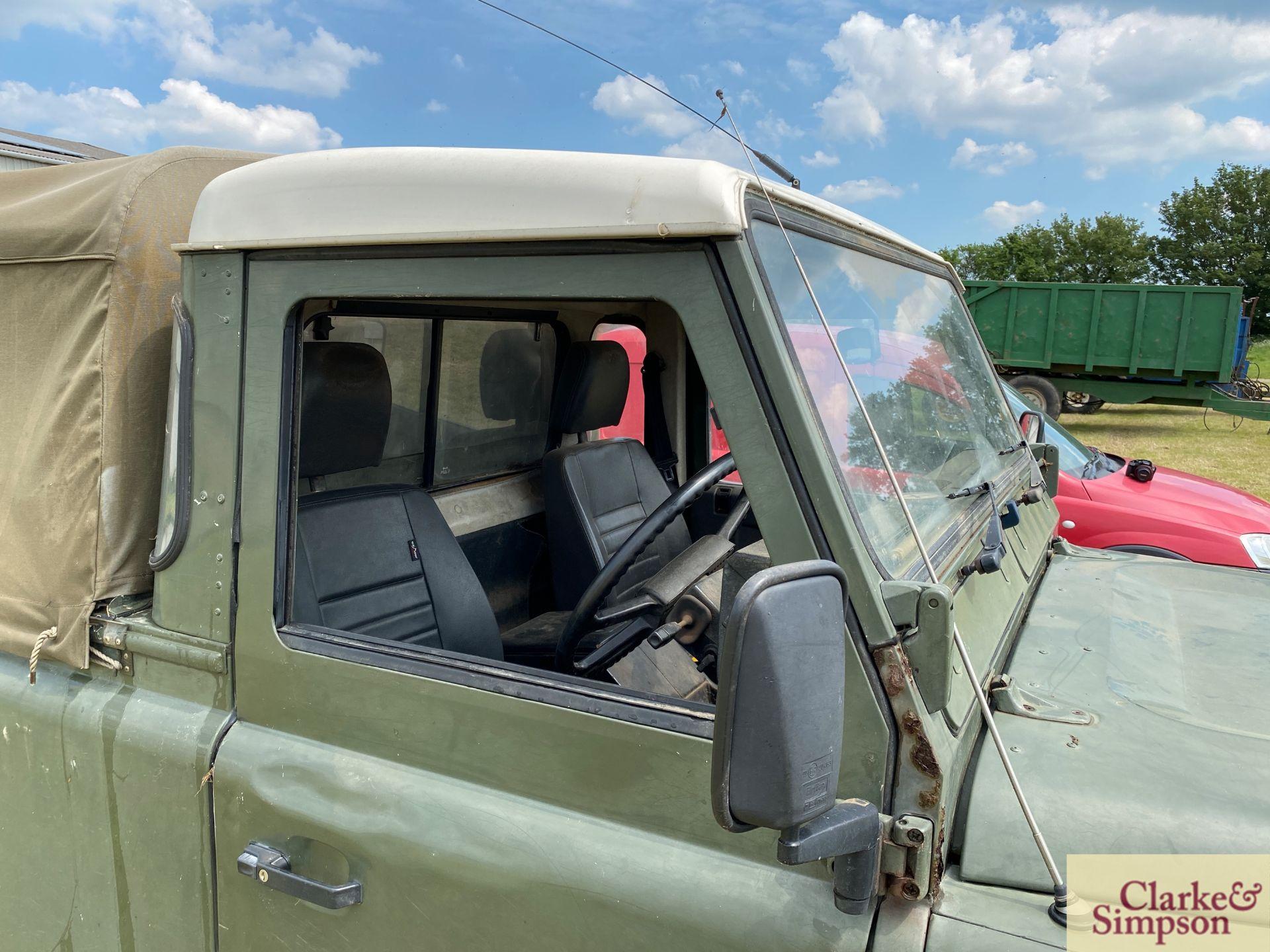 Land Rover Defender 110 single cab pick-up. Registration H317 OHK. Date of first registration 08/ - Image 30 of 56